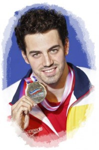 Rafa Munoz con medalla