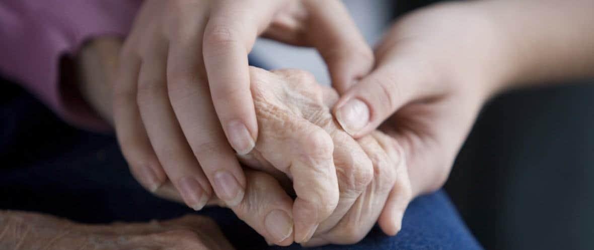 Rigidez en paciente con Parkinson