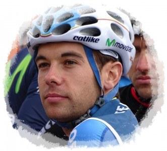 Higinio Fernández ciclista del Movistar Team
