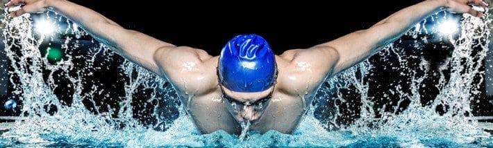 Nadador de mariposa
