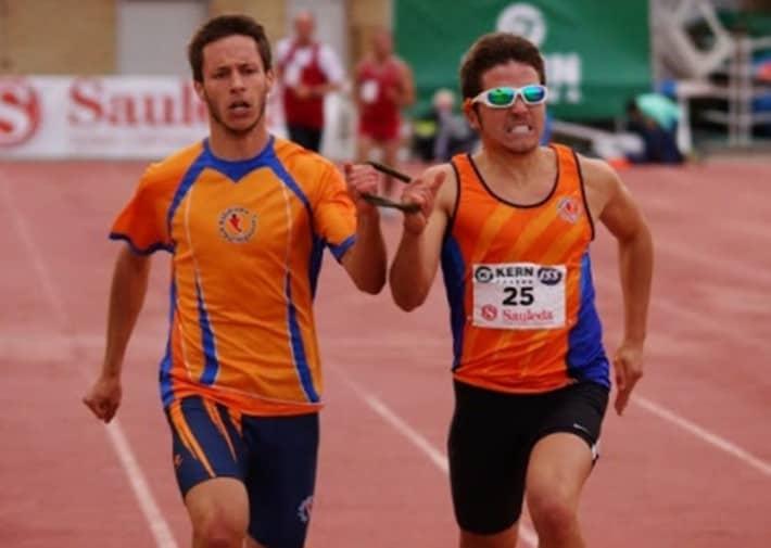 Pablo Cantero atleta invidente