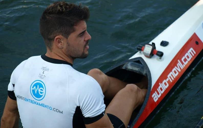 Antón Rey, deportista patrocinado por ME
