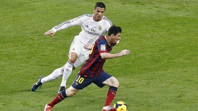 Cristiano Ronaldo y Messi ejercicio excéntrico