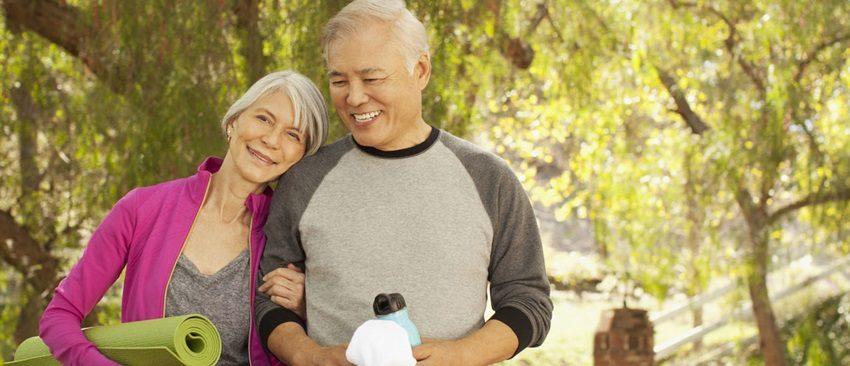 pareja de edad avanzada