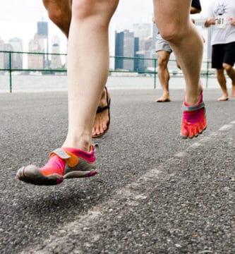 Runner`s con calzado minimalista