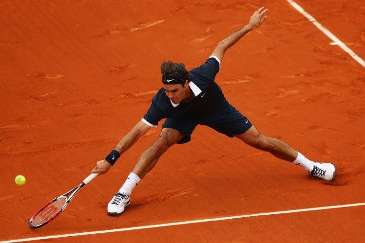 Federer en tiierra