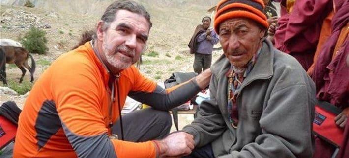 Ángel Gutiérrez en el desafío Himalaya