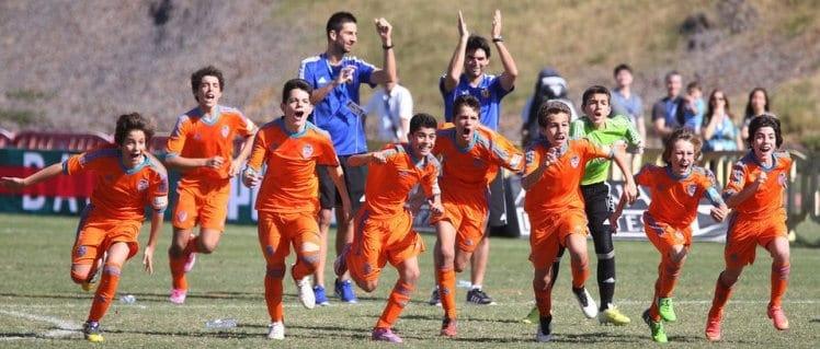 Valencia celebra victoria