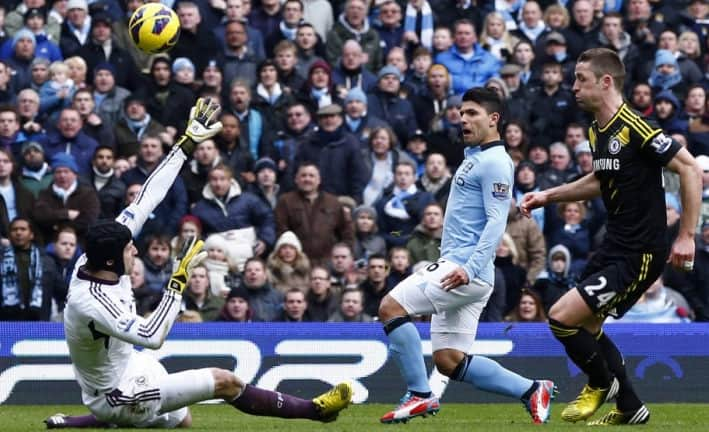 Gol de Agüero al Chelsea