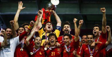 España campeona de la Eurocopa 2012