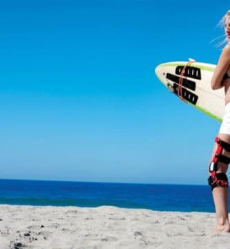 Lesiones en el surf