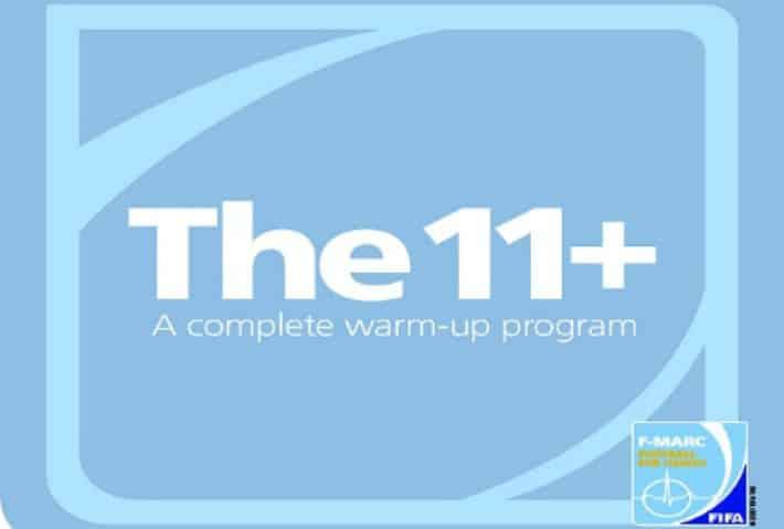 Logo de los 11+ de FIFA