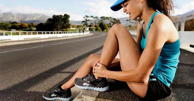 Mujer con fracturas por estres