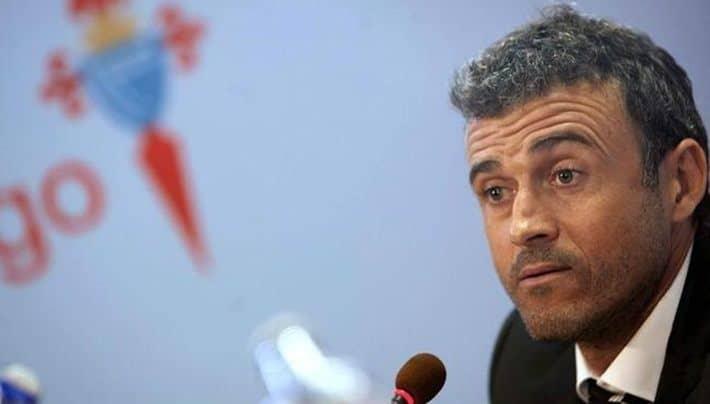 Luis Enrique Celta de Vigo