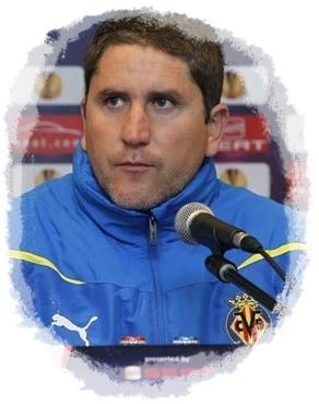 Juan Carlos Garrido en el Villarreal