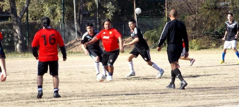 futbol para gente mayor