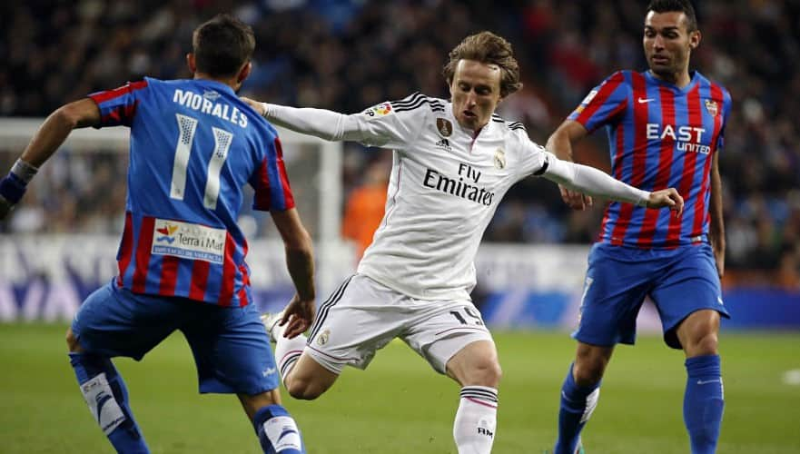 David Barral y Modric