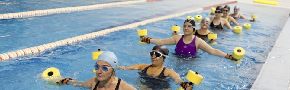 Ejercicio fisico en el agua
