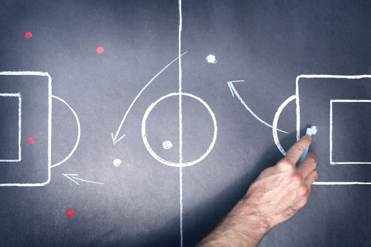 Diseño de táctica en fútbol