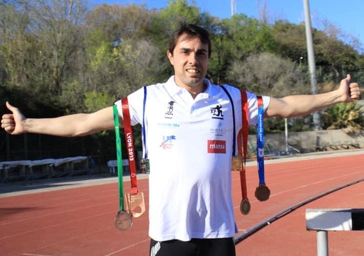 Xavi Porras medallista