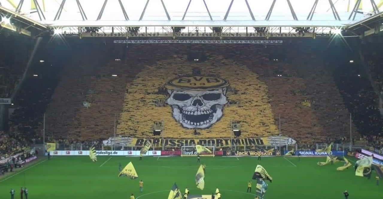 Aficción del Borussia Dortmound