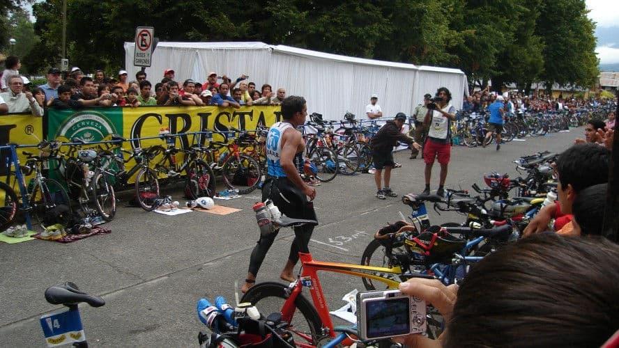 Transicion de primera a segunda fase en triatlon