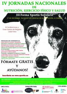 Cartel IV Jornadas Sportis