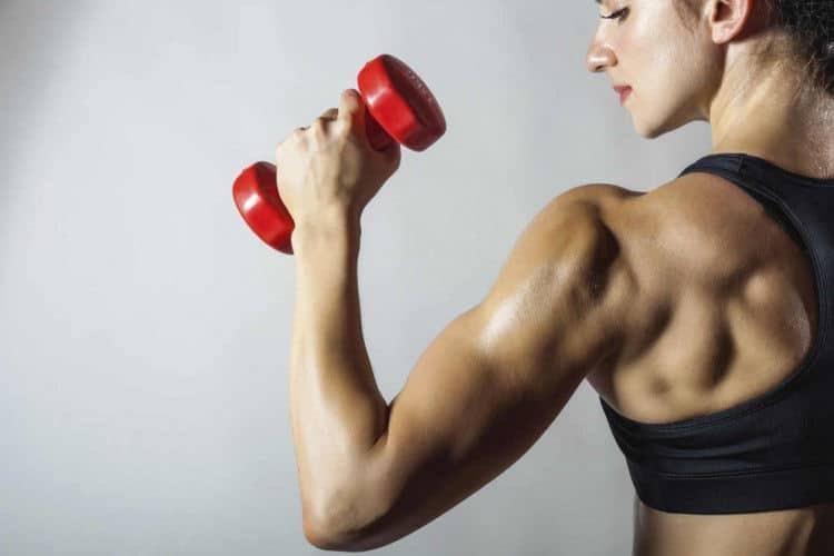 Proteínas en la mujer deportista
