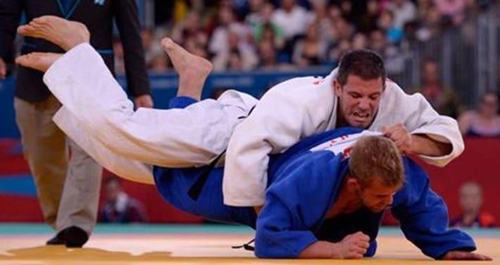 Abel Vázquez judo suelo