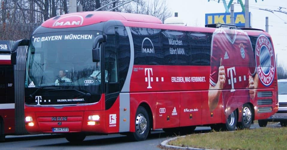 Autobus del Bayern de Munich