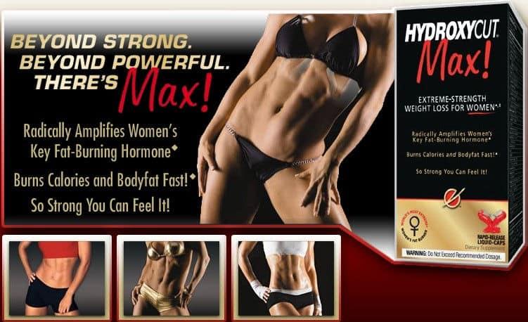Publicidad de suplementos para la pérdida de peso