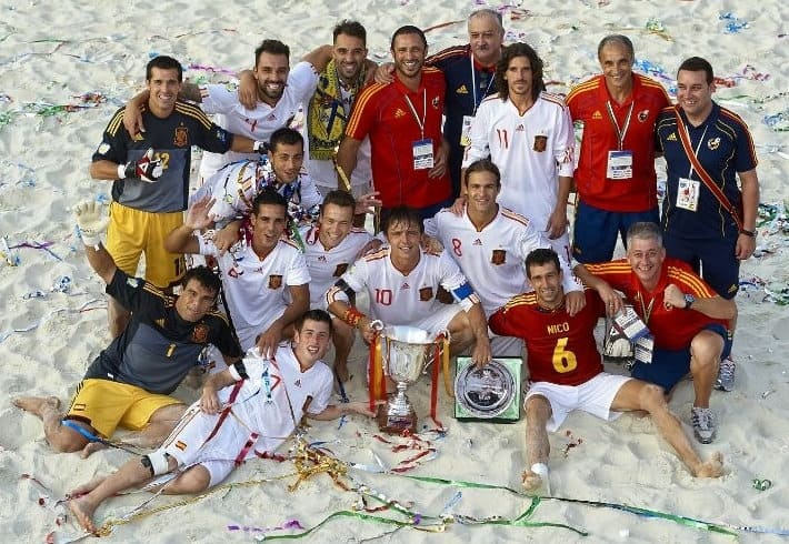 Miguel Beiro equipo completo