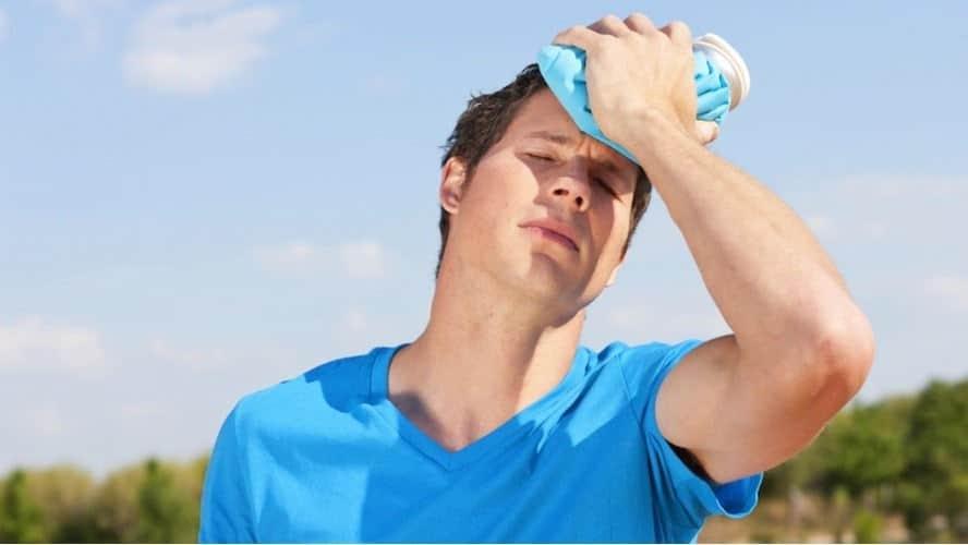El golpe de calor puede producir graves secuales a nuestro cuerpo