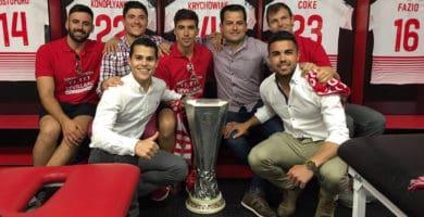 Carlos Otero con la Europaleague