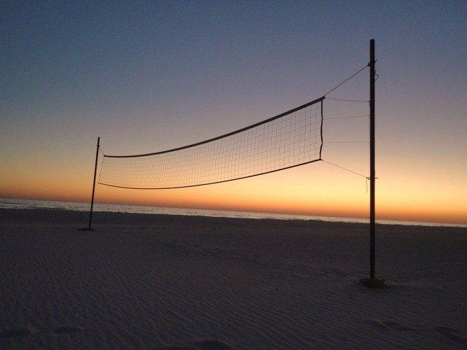 Campo de volei playa
