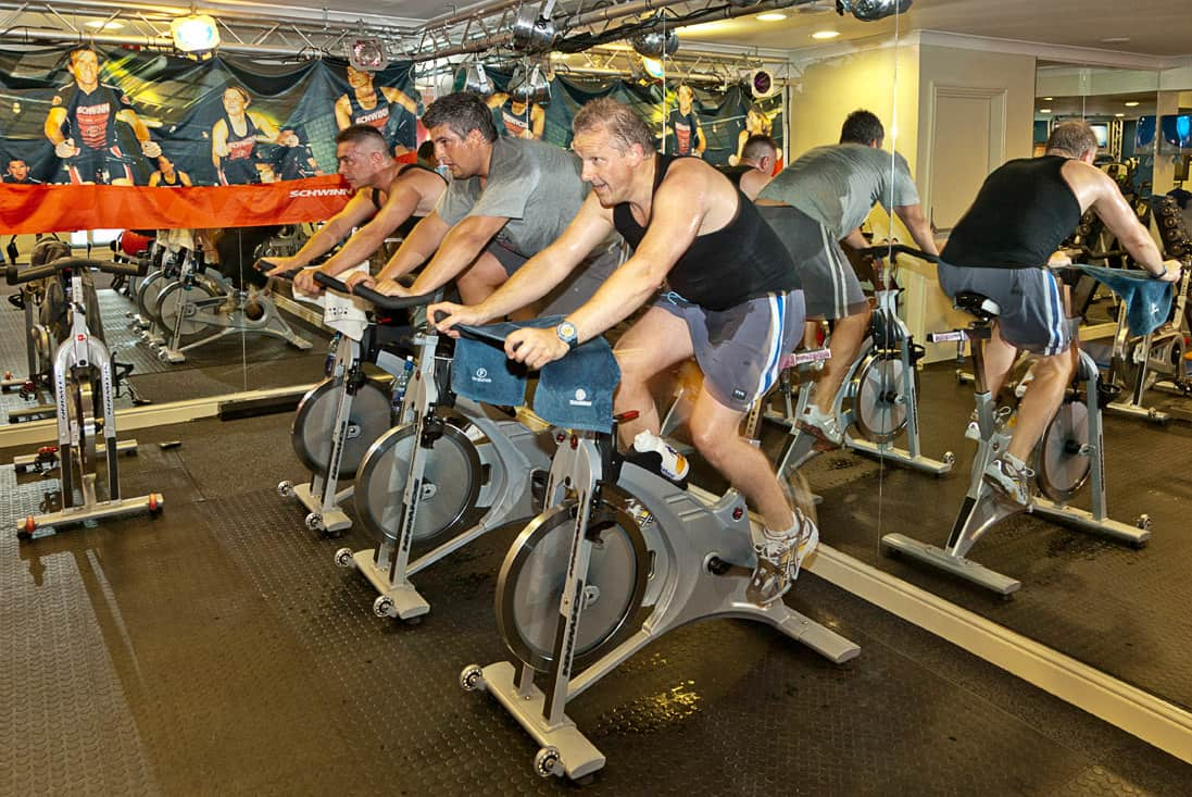 Clase de Spinning bike