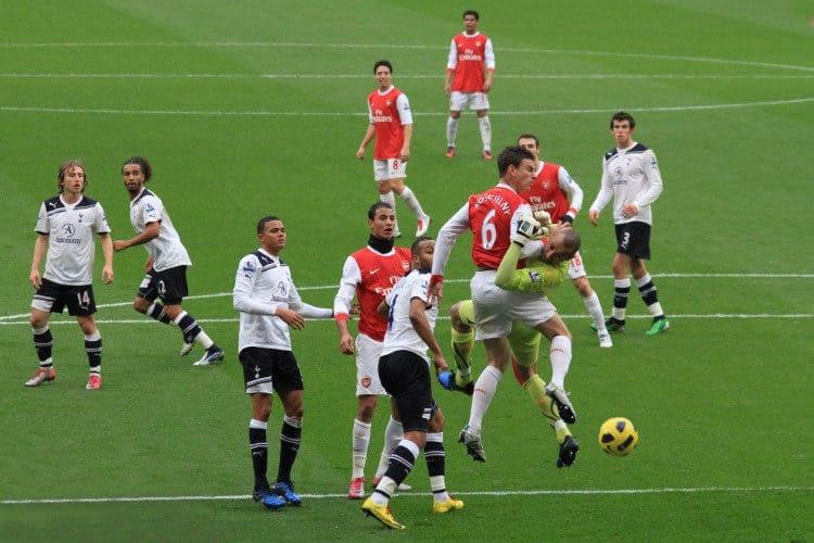 fuerza en el fútbol