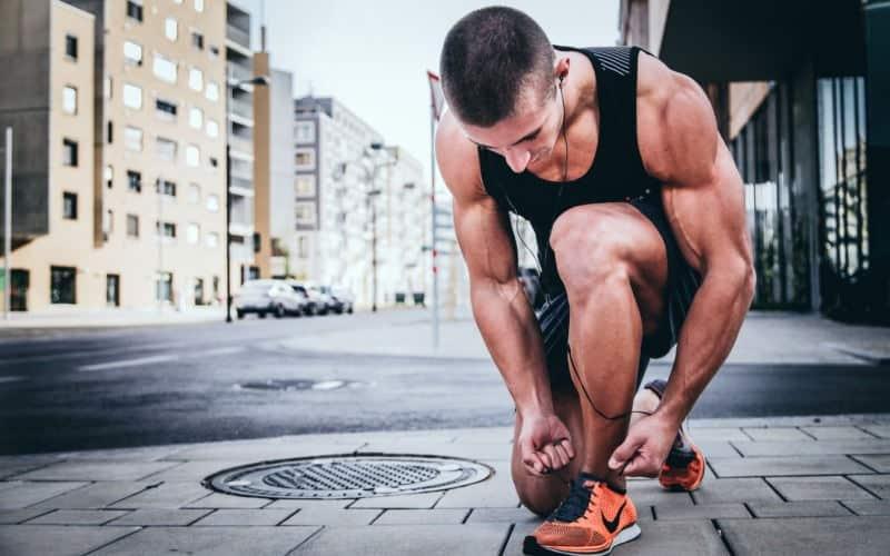 calentamiento físico en running