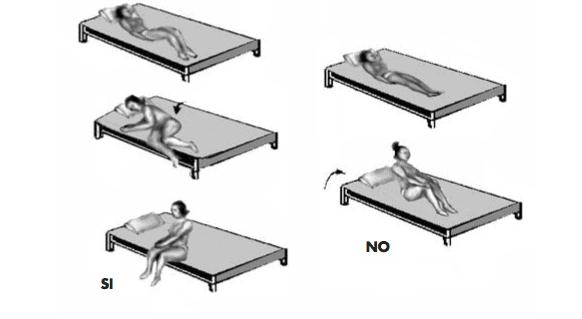 levantarse de cama
