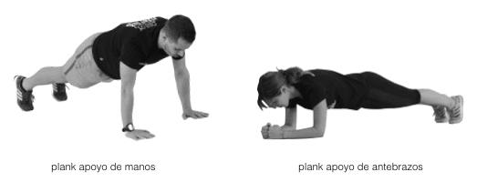 plank a entrenar