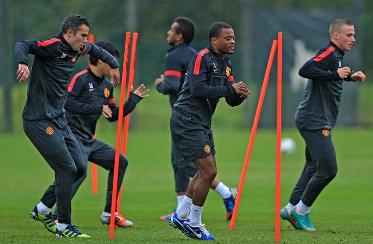 carga de entrenamiento en fútbol