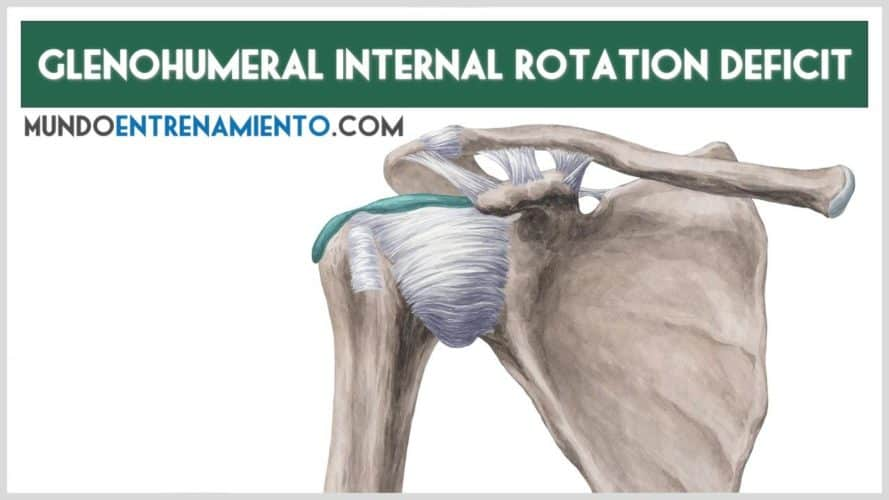 glenohumeral internal rotation déficit