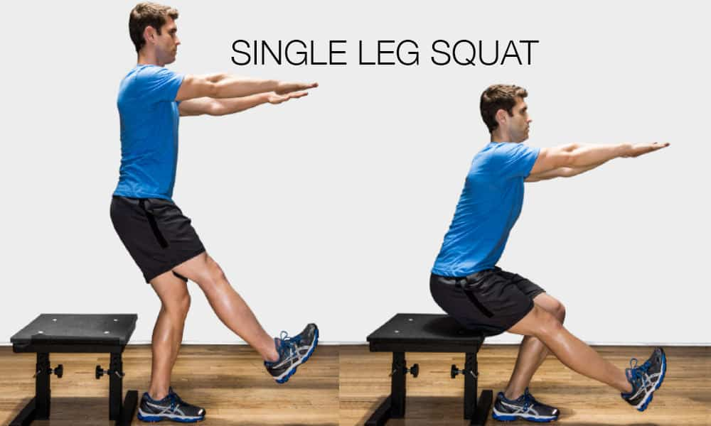 single squat