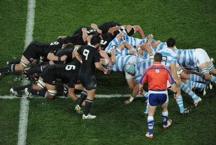 Melé de rugby