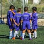 fútbol base jóvenes