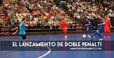 doble penalti de fútbol sala