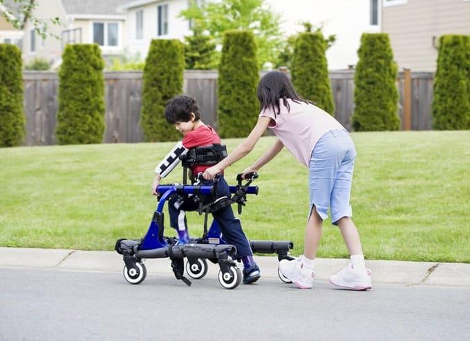 ejercicio fisico y parálisis cerebral infantil