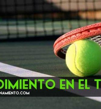 rendimiento en el tenis