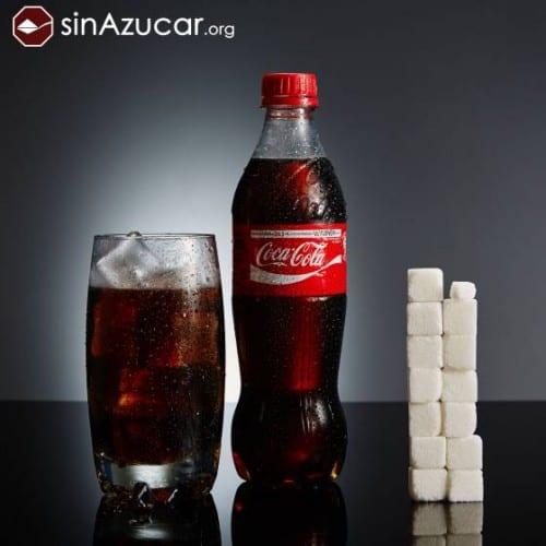 cantidad de azúcar cocacola