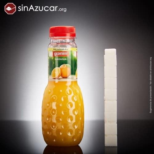 cantidad de azúcar en zumo